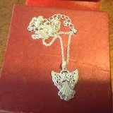 Angel necklace in Lockport, Illinois