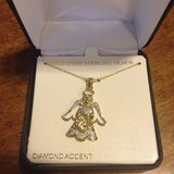 Angel necklace new in Lockport, Illinois