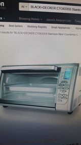 BLACK+DECKER CTO6335S Stainless Steel Countertop Convection Oven, Silver in Fort Irwin, California