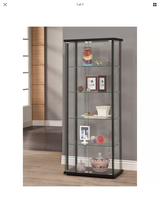 Curio cabinet glass brand new it's still in box  $270 in Lawton, Oklahoma