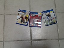 PS4 games in Yucca Valley, California
