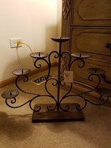 Candle holder heavy new in Naperville, Illinois