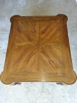 Wood end table with drawer in Chicago, Illinois
