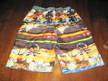EUC Ocean Pacific OP Boy's XL 16 18 Island Sea Surf Swim Suit Trucks Swimwear Trunks in Kingwood, Texas