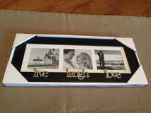"(NEW) ""Live"" ""Laugh"" ""Love"" Picture Frame in Yorkville, Illinois"