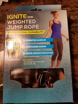 Spri weighted jump rope new in Joliet, Illinois