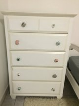 5 drawer dresser and night stand in Ramstein, Germany