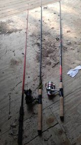 Three Fishing Poles in Warner Robins, Georgia