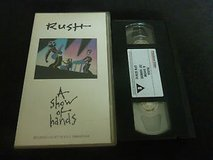 **COLLECTORS VHS RUSH CONCERT SERIES** in Alamogordo, New Mexico