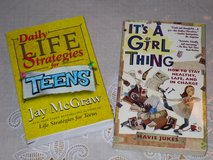 2 books for tween/young teen girls in Naperville, Illinois
