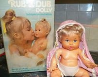 1974 Rub a Dub Dolly from Ideal in Bolingbrook, Illinois