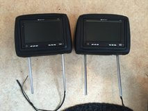 Dodge Charger Headrest Monitors (headrest included) in Hohenfels, Germany