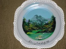 harker ware plate -smoky mtns in Lockport, Illinois