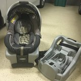 Infant Car seat ( Graco) with second base in Houston, Texas