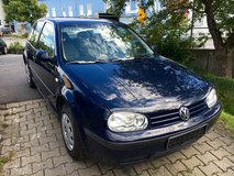 Volkswagen Golf Mark IV- AC- new inspection in Hohenfels, Germany