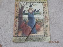 Scarecrow Garden Flag in Aurora, Illinois