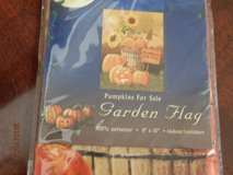Brand New Pumpkins For Sale Garden Flag in Aurora, Illinois