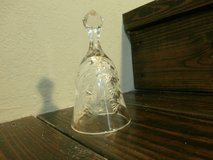 Vintage Violetta Hand Cut 24% Lead Crystal Bell in Cleveland, Texas
