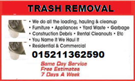 TRASH & JUNK REMOVAL/PICK UP & DELIVERY/LOCAL MOVING/ SERVICES in Ramstein, Germany