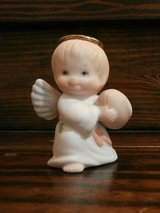 Enesco Ruth Morehead Angel Figurine boy with football in Cleveland, Texas