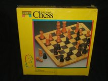 Chess Set Wood NEW in Naperville, Illinois
