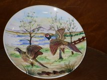 "3D pheasants plate wall hanging 8"" in Plainfield, Illinois"