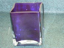 "purple vase/candle holder 5""h x 4""w in Lockport, Illinois"