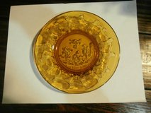 Vintage 4/Piece amber Tiara Glass 1950's in Cleveland, Texas