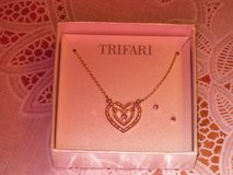 new trifari necklace & earrings in Lockport, Illinois