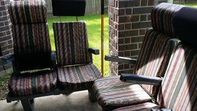 Set of two-seat Airplane Seats in The Woodlands, Texas