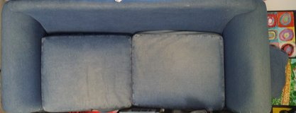 Custom Made Jeans sofa in Conroe, Texas