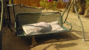 Porch Swing in Yucca Valley, California
