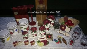 Apple decorations in Fort Rucker, Alabama