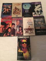 9 Classic VHS Tapes in Camp Lejeune, North Carolina