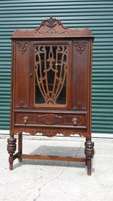 Antique 1920s China Cabinet in Houston, Texas