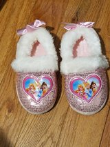Disney Princess slippers - size 11-12 Excelent condition in Plainfield, Illinois