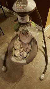 Fisher Price Snugabear Swing in Fort Campbell, Kentucky