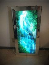 Picture of a water fall with water sound in Okinawa, Japan