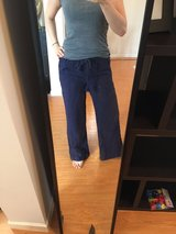 Small aerie linen beach pants in Okinawa, Japan