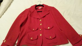 Joan Rivers Red Jacket/Blazer Size L in Wiesbaden, GE