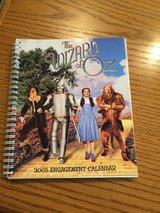 2003 The Wizard of Oz Engagement Calendar - New - Great Pictures! in Bolingbrook, Illinois