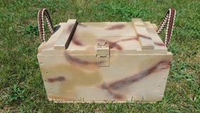 Camo Wood Ammo Crate w/ Paracord Wrapped Handles in Quantico, Virginia