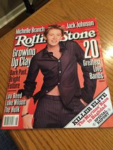 Rolling Stone Magazine - Clay Aiken Cover - July 10, 2003 in Bolingbrook, Illinois