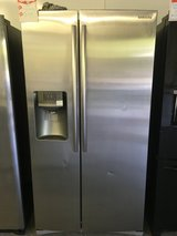 Special on this SAMSUNG Stainless Side by Side Refrigertor in Fort Benning, Georgia