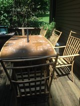 Patio table with chairs in Fort Campbell, Kentucky