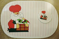 Beautiful Christmas Placemats and matching Coasters-set of 4 in New Lenox, Illinois