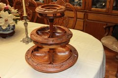 Wood Lazy Susan in Leesville, Louisiana