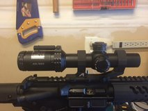 Bushnell 1-4x24 AR scope with Aero Precision lightweight cantilever mount in Camp Pendleton, California