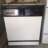 White GE dishwasher in Houston, Texas