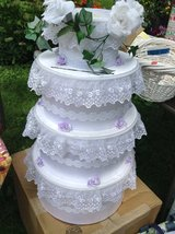 Homemade wedding Cake Card Box in Chicago, Illinois